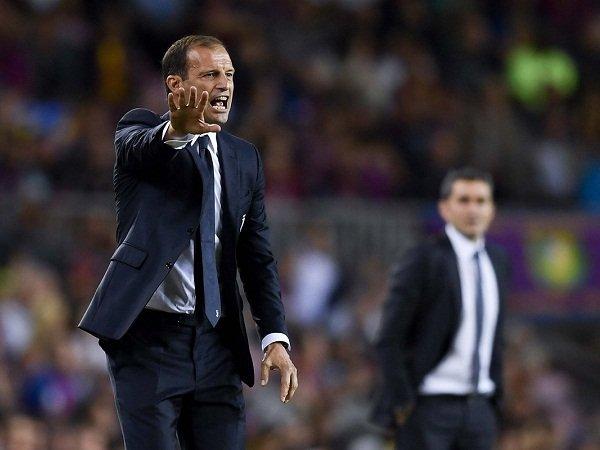 Massimiliano Allegri Damprat Lini Pertahanan Juventus Setelah Dibantai Barcelona