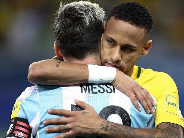 Neymar Turut Bahagia Lionel Messi Sukses Bawa Argentina ke Piala Dunia