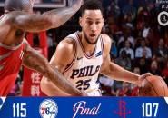 Berkat Ben Simmons, 76ers Sukses Permalukan Rockets