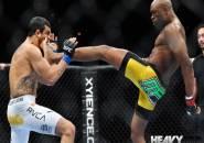 Tersandung Doping, Anderson Silva Hancurkan 'Warisannya' di UFC