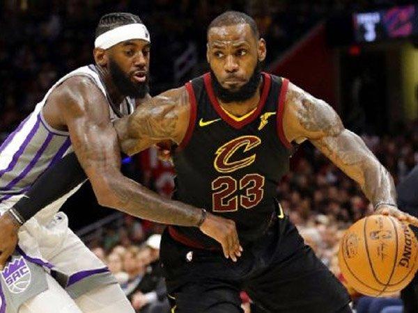 Kemenangan Beruntun Cavaliers Berlanjut Berkat Performa James