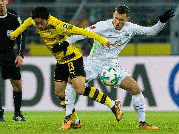 Match Highlight: Dortmund 1-2 Werder Bremen, Die Borussen Teruskan Catatan Buruk