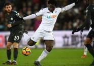 Cedera Hamstring, Bony Absen di Dua Laga Selanjutnya Swansea