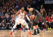 Three Point Westbrook Menangkan Thunder Atas Hawks