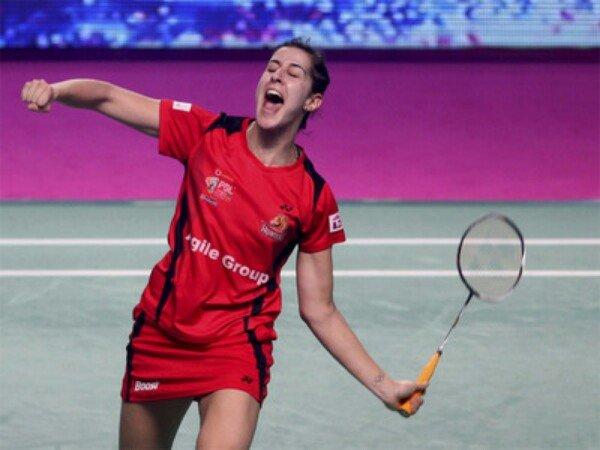 Sai Praneeth dan Carolina Marin Bantu Hunters Lolos ke Final India Badminton Premier League