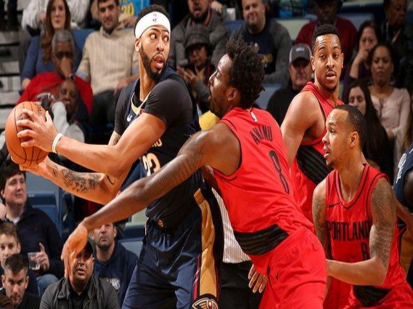 Bigman New Orleans Pelicans Terlalu Tangguh untuk Portland Trail Blazers