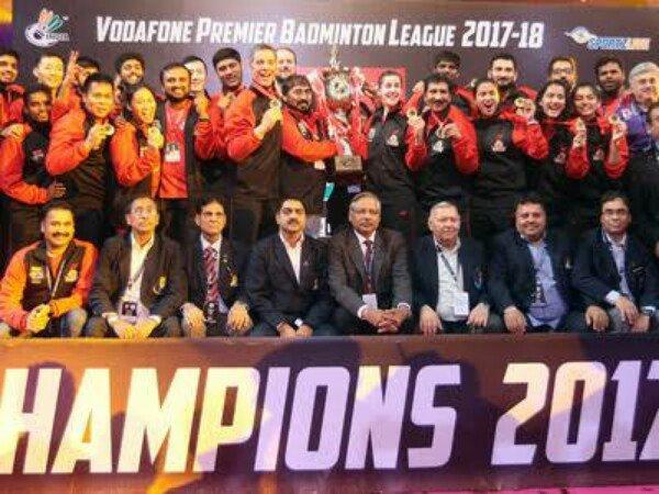 Hyderabad Hunters Juara India Badminton Premier League