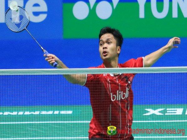 Kandaskan Juara Olimpiade, Anthony Lolos Ke Babak Dua Malaysia Masters 2018