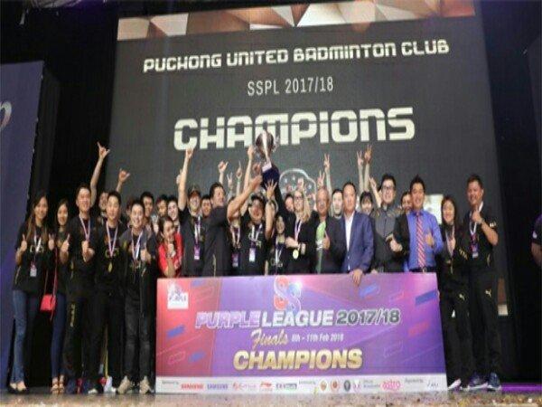 Chou Tien Chen Bawa Puchong United Juara Purple League 2017/18