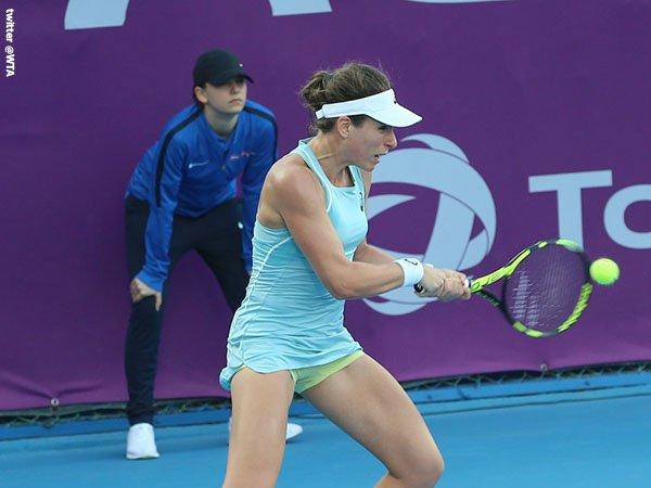 Johanna Konta Lewati Tantangan Pertamanya Di Doha