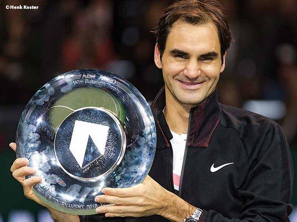 Kandaskan Grigor Dimitrov, Roger Federer Klaim Gelar Di Rotterdam