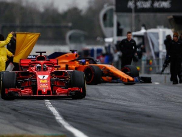 Kimi Raikkonen di Puncak, McLaren dan Renault Bangkit