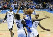 Russell Westbrook Cetak Triple-Double, Thunder Ungguli Spurs