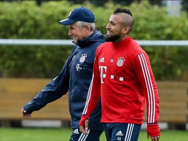 Vidal Minta Jupp Heynckes Bertahan di Bayern Munich