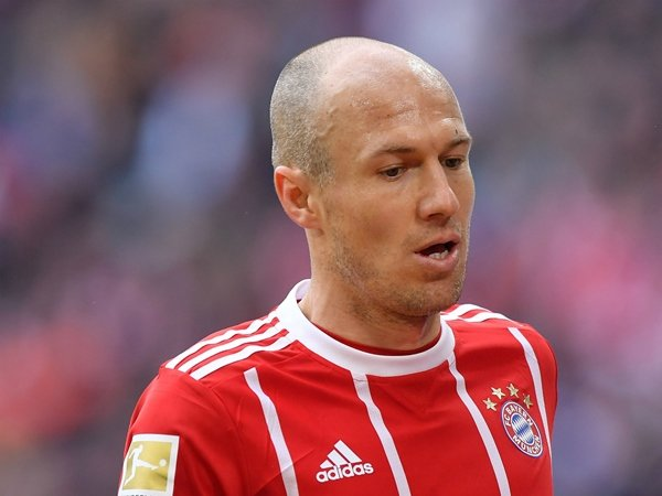 Bayern Akan Tanpa Arjen Robben Saat Hadapi Besiktas di Liga Champions