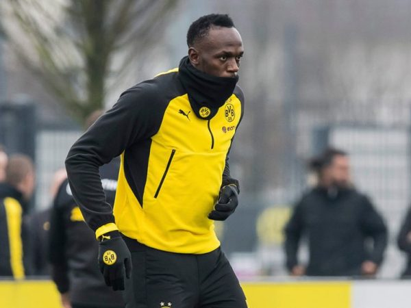 Usain Bolt Akan Kembali Jalani Trial Bersama Borussia Dortmund