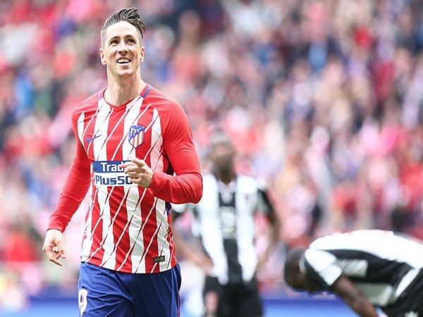 Cetak Gol ke-100 di La Liga, Simeone Puji Torres Sebagai Ikon Atletico