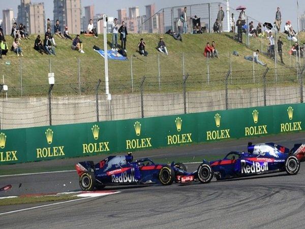 Insiden Antara Duo Toro Rosso di GP Tongkok Karena Miskomunikasi