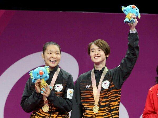 Mei Kuan/Vivian Sukses Juara Ganda Putri Commonwealth Games 2018