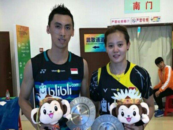 Ronald/Annisa Gagal Menangi Turnamen China Masters 2018