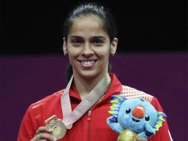 Tumbangkan Sindhu, Saina Nehwal Juara Commonwealth Games 2018
