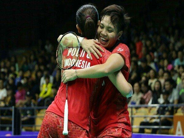 Greysia/Apriyani Lewati Laga Sengit di Babak Pertama Kejuaraan Asia