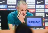 Calon Gelandang Barcelona Bersedih Gagal Main Bareng Iniesta