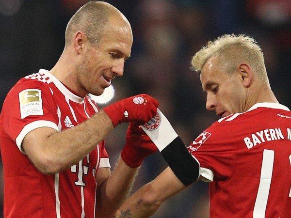 Bayern Munich Resmi Perpanjang Kontrak Arjen Robben dan Rafinha