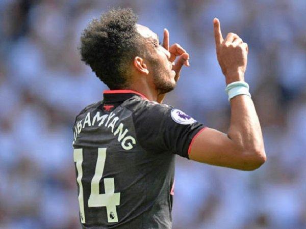 Aubameyang Jadi Pemain Arsenal Tercepat Yang Mampu Mencetak Sepuluh Gol Di Premier League