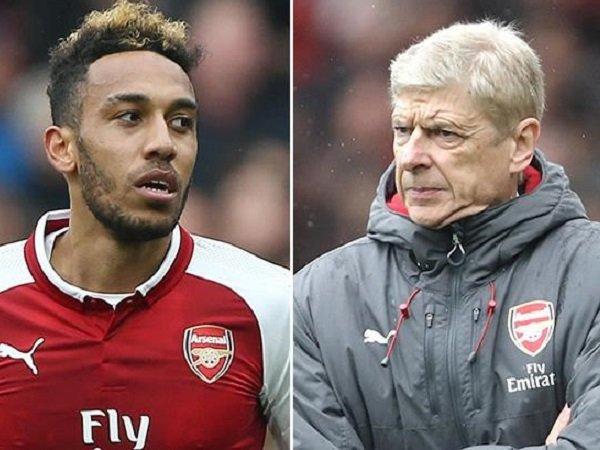 Aubameyang Rupanya Sempat Berpikir Kalau Wenger Akan Tinggal Lebih Lama Di Arsenal