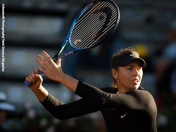 Maria Sharapova Terseok-Seok Pada Laga Pembukanya Di Roma