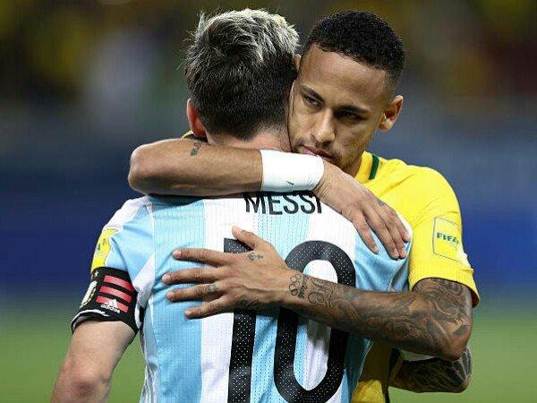 Messi Minta Neymar Tak Gabung Real Madrid