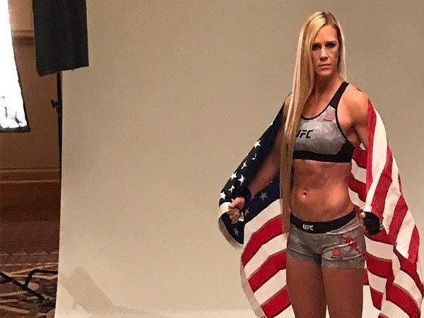 Holly Holm Lebih Nyaman Bertarung di Kelas Bantam UFC