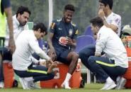 Ditekel Casemiro, Fred Alami Cedera Saat Jalani Latihan Bersama Timnas Brazil
