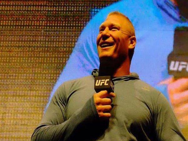 Dana White Sebut Brock Lesnar Tertarik dengan Duel Kontra Jon Jones