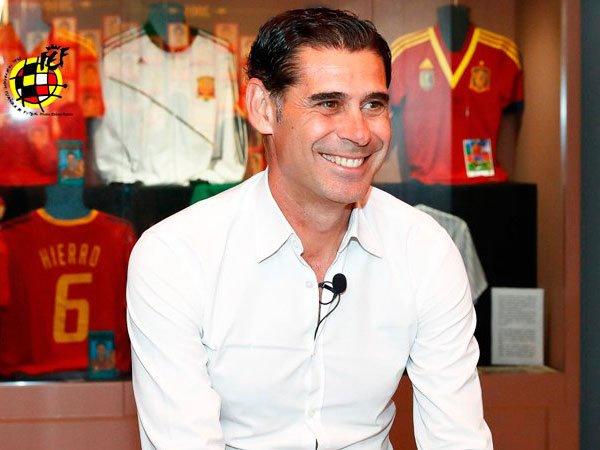 Fernando Hierro Ditunjuk Sebagai Pelatih Baru Spanyol Jelang Piala Dunia 2018