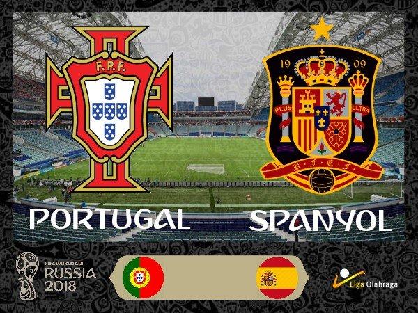 Prakiraan Susunan Pemain Portugal Kontra Spanyol