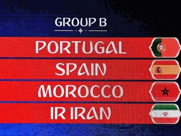 Preview Grup B Piala Dunia 2018: Portugal, Spanyol, Maroko, Iran