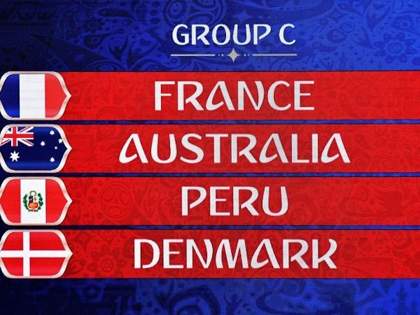 Preview Grup C Piala Dunia 2018: Prancis, Australia, Peru, Denmark