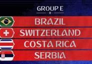 Preview Grup E Piala Dunia 2018: Brasil, Swiss, Kosta Rika, Serbia