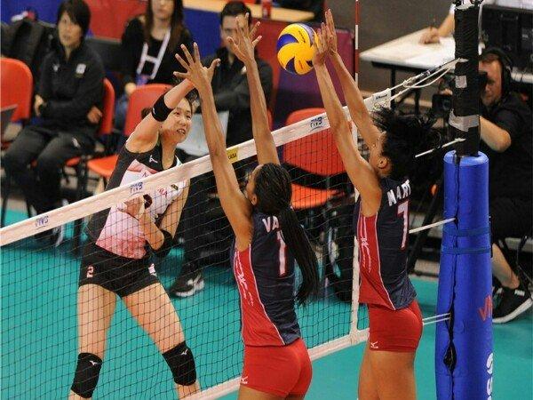Jepang Kalahkan Republik Dominika di Volleyball Nations League 2018
