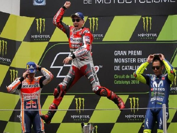 Klasemen MotoGP usai GP Catalunya: Kalah dari Lorenzo, Marquez Masih Berada di Puncak