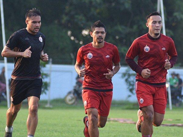 Fokus Benahi Fisik, Dua Pemain Absen di Latihan Perdana Persija