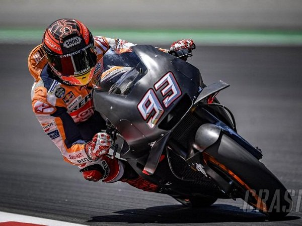 Jajal Tunggangan Hitam Misterius Honda, Begini Komentar Marquez