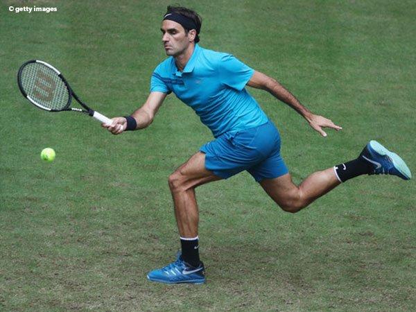 Aljaz Bedene Tak Mampu Bendung Roger Federer Pada Laga Pertama Di Halle