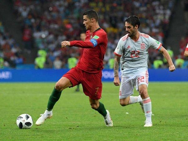 Bobol Gawang Spanyol Tiga Kali, Isco dan Ronaldo Tak Lagi Akrab?
