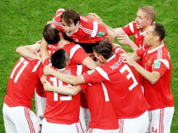 Petik Kemenangan Ke-2, Rusia Lolos Ke Babak 16 Besar
