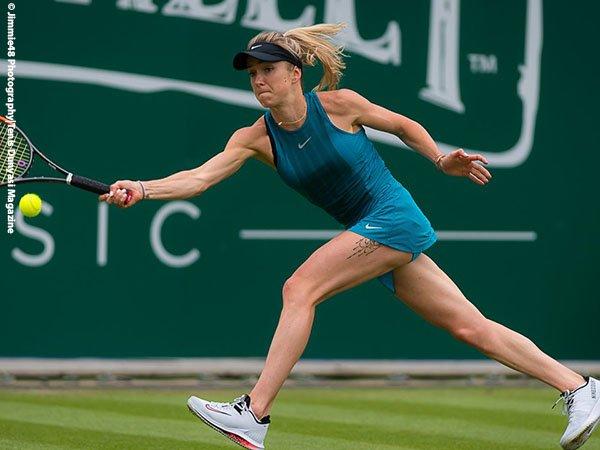 Usai Kemenangan Atas Donna Vekic, Elina Svitolina Merasa Lebih Senang Di Grass-Court