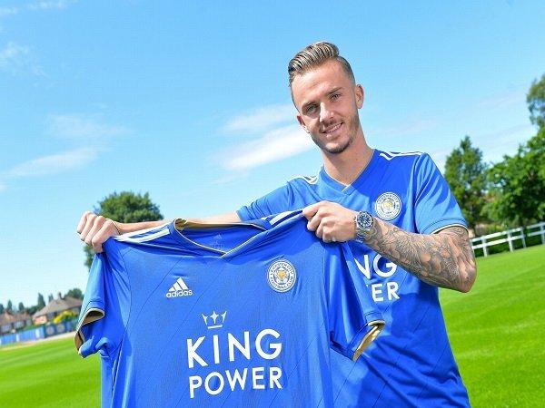 James Maddison Tanda Tangani Kontrak 5 Tahun di Leicester
