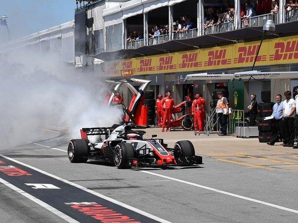 Tak Alami Kerusakan, Mesin Grosjean di GP Kanada Bisa Dipakai Lagi